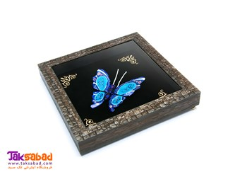 قاب پروانه میناکاری