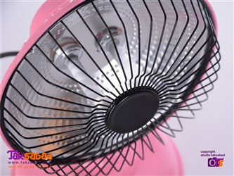 مینی هیتر برقی مدل پنکه ای