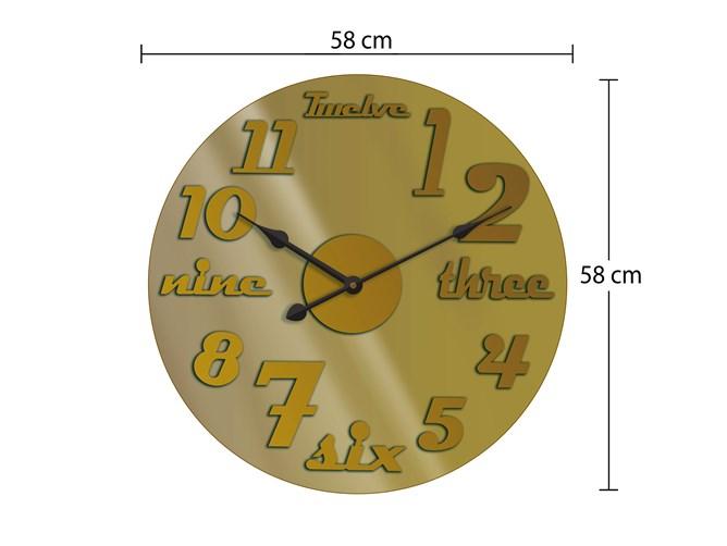 ساعت دیواری تولیکا