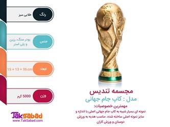 اینفوگرافی کاپ جام جهانی