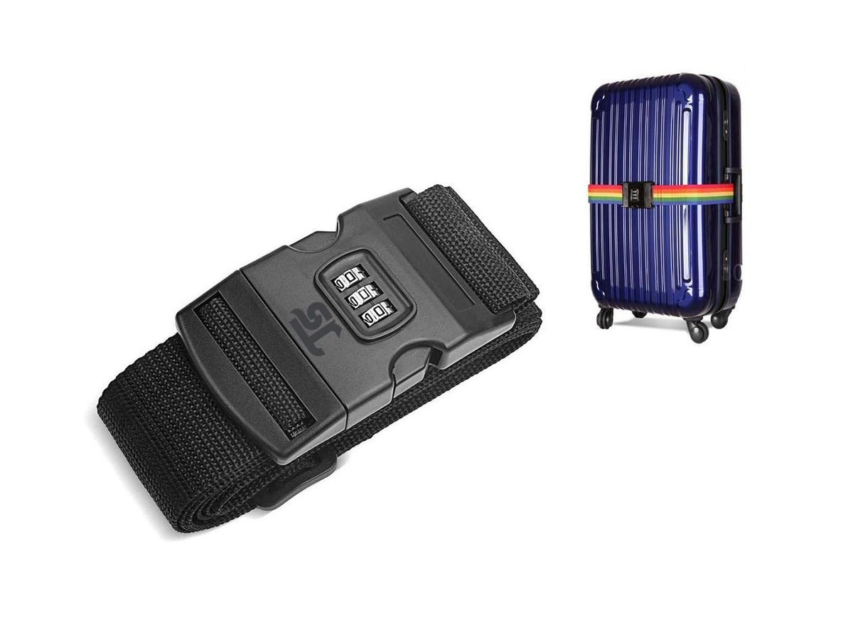 تسمه حمل و تگهدارنده چمدان رمز دار