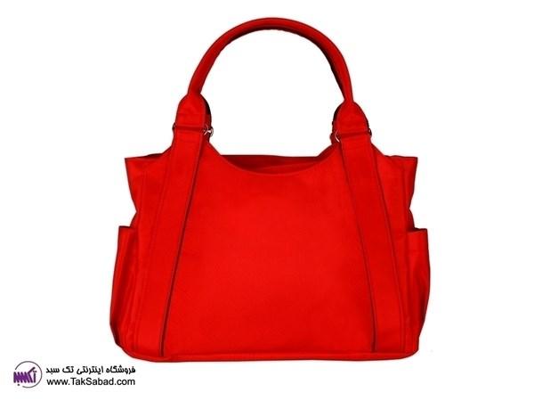 کیف قرمز دخترانه