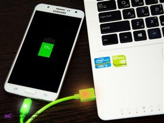 کابل android ال ای دی دار