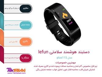 اینفوگرافی دستبند سلامتی plus115