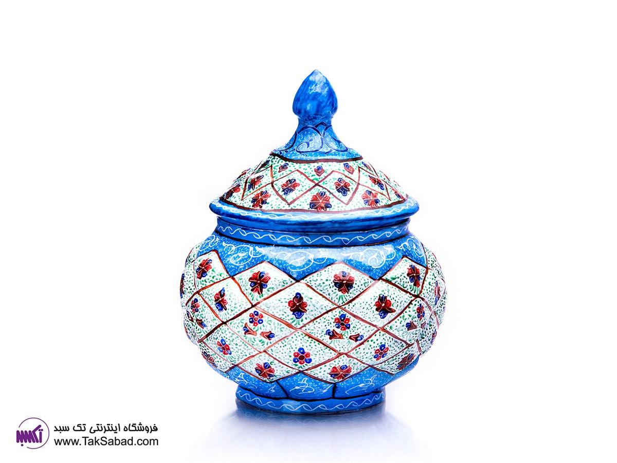 قندان میناکاری اصفهان