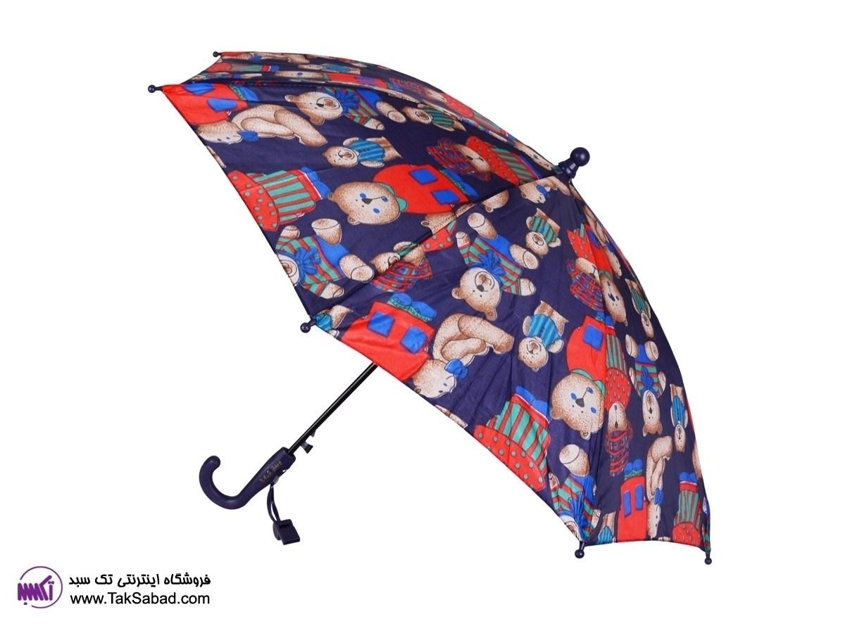 چتر بچه گانه طرح خرس