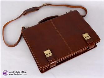 کیف اداری با چرم طبیعی