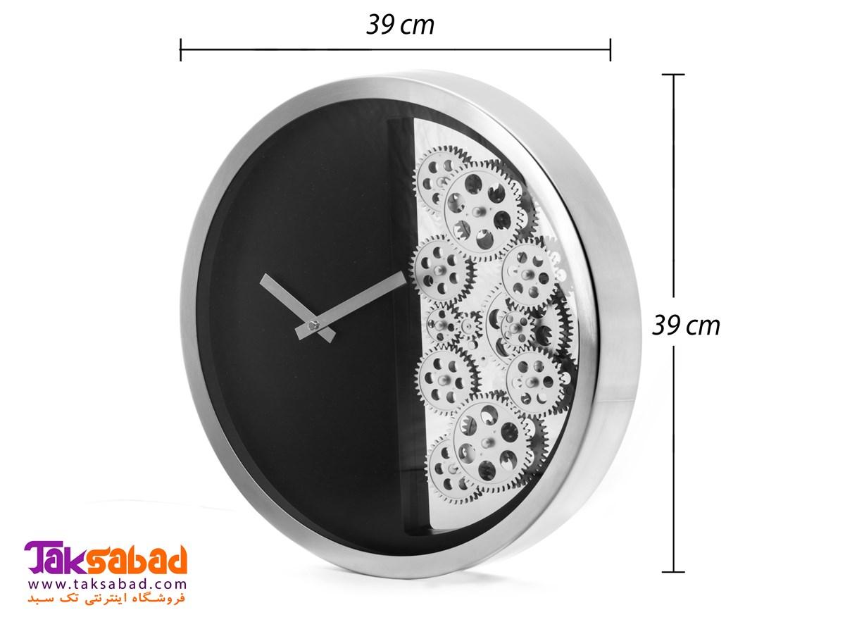ساعت دیواری چرخ دنده ای