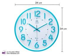 ساعت دیواری رنگی