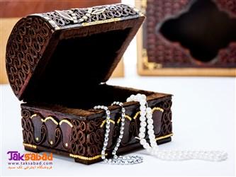 جعبه چرمی جواهرات