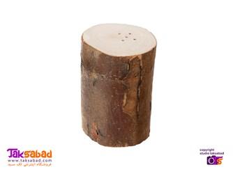 استند و نمکدان چوبی