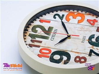 ساعت دیواری سیتیزن مدل گرد