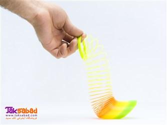 فنر بازی Rainbow Spring Slinky