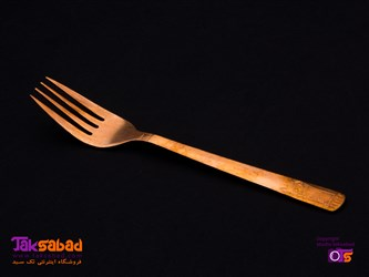 قاشق و چنگال مسی