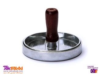 همبرگر ساز دستی فلزی