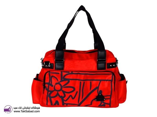 کیف قرمز زنانه