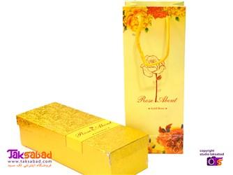 گل رز طلایی کادو