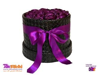 باکس گل رز هدیه