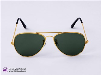 عینک آفتابی ریبن طلایی rayban
