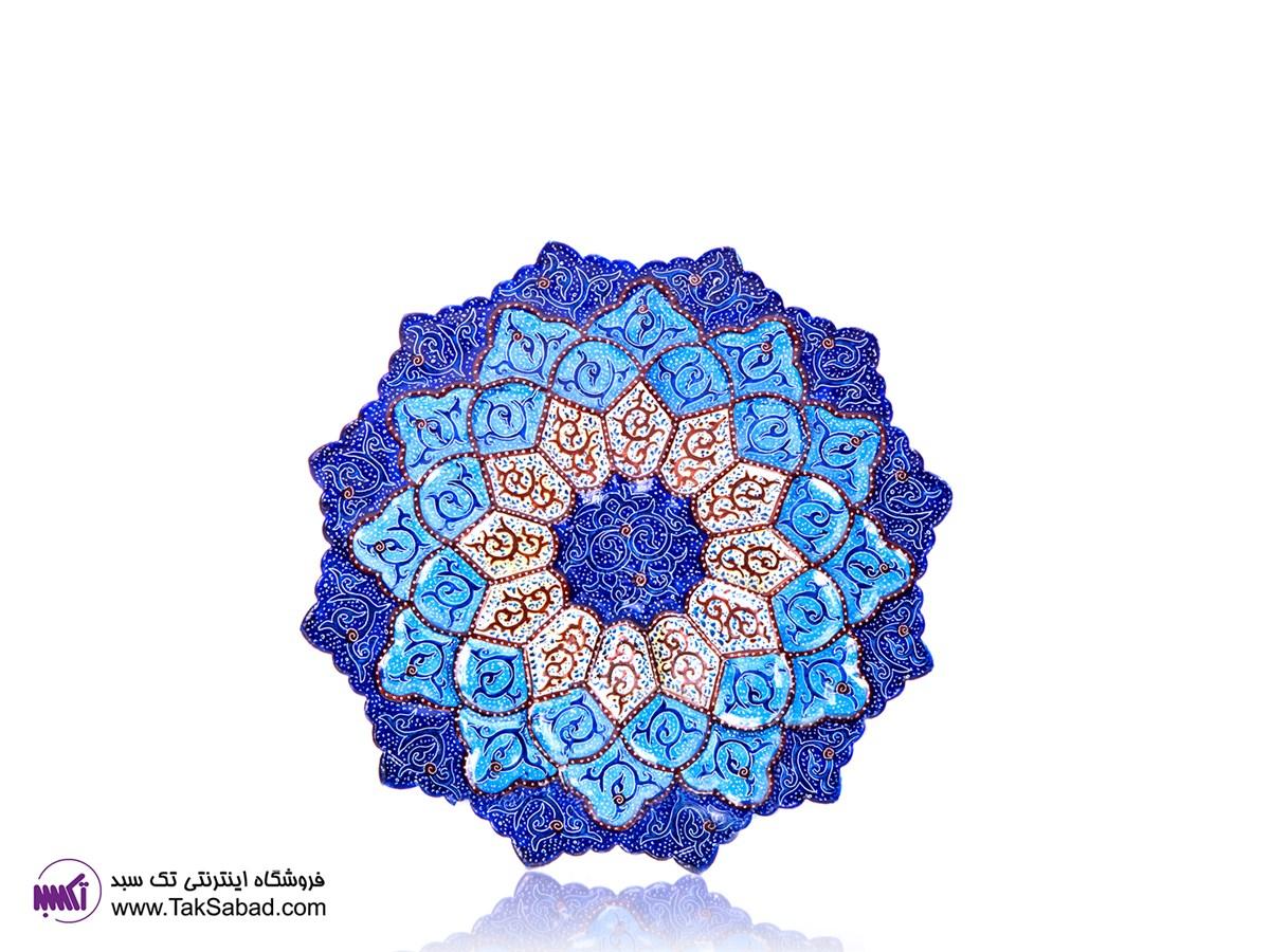 بشقاب مینا اصفهان