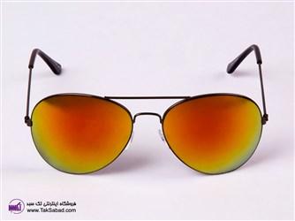 عینک آفتابی شیشه آتشی rayban