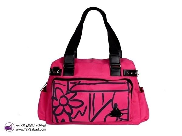 کیف صورتی دخترانه
