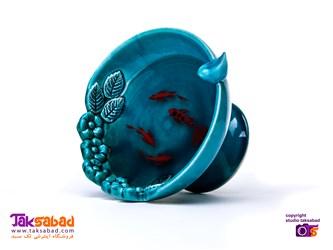 ماهی سه بعدی رزین