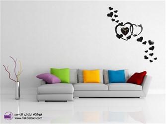 ساعت دیواری فانتزی رقص عشق