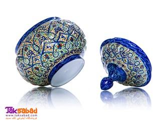 قندان مینا کاری اصفهان
