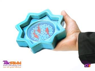 کاسه ماهی سه بعدی