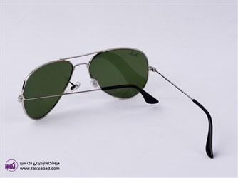 عینک آفتابی ریبن فریم نقره ای