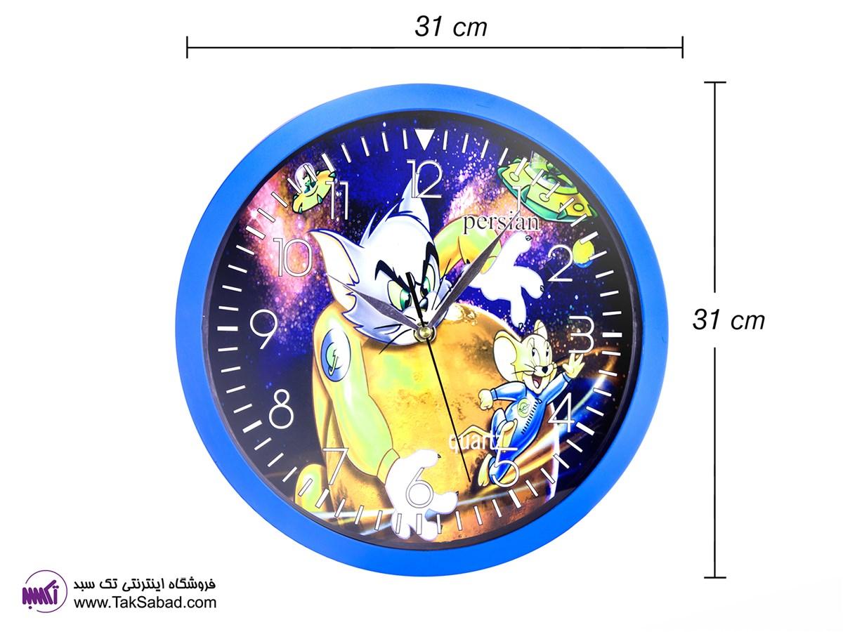 ساعت دیواری مدل تام و جری