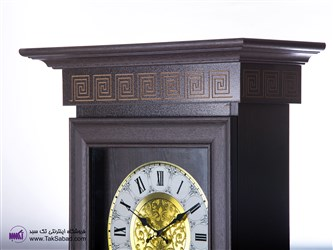 ساعت دیواری چوبی مدل ایستاده