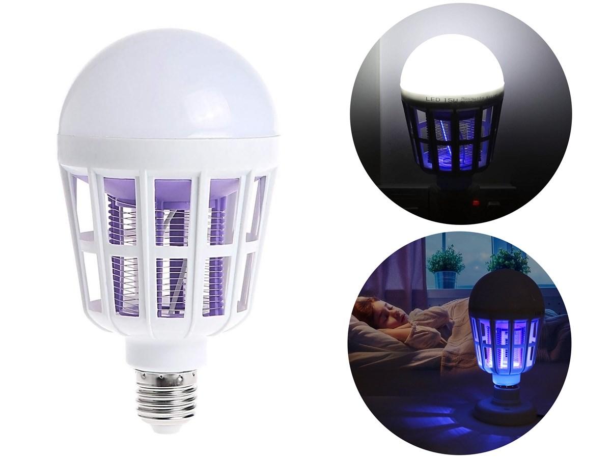 لامپ ال ای دی حشره کش برقی 15 وات