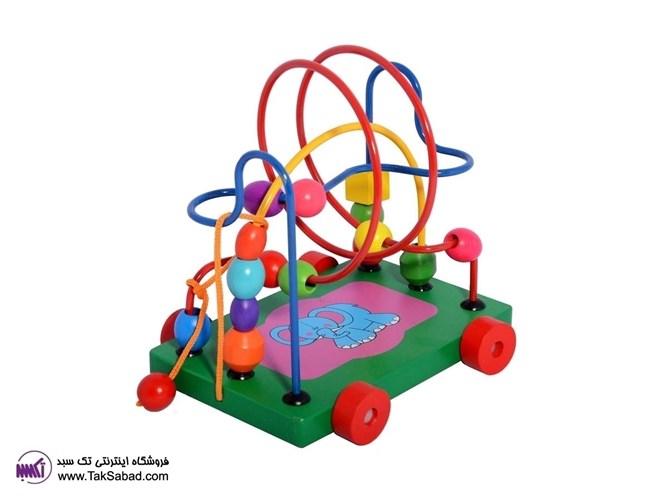 اسباب بازی حرکت مهره ها circte bead