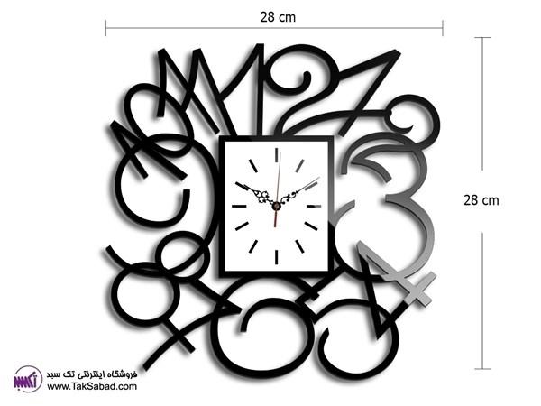 ساعت دیواری مربع